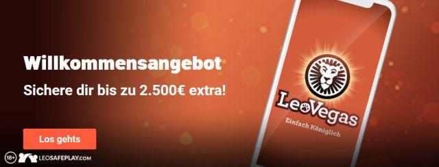 Leo Vegas Angebot