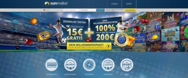 Sunmaker Angebote